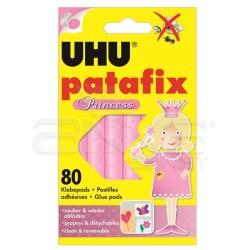 Uhu - Uhu Patafix Hamur Tipi Yapıştırıcı Prıncess Pembe (Uhu41710-PRN)