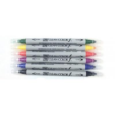 Zig Clean Color f Çift Uçlu Marker Kalem