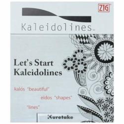 Zig - Zig Kaleidolines Desen-Çizim Başlangıç Kitapçığı