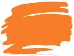 Zig Kurecolor Fine & Brush for Manga Çizim Kalemi 406 Cadmium Orange - 406 Cadmium Orange