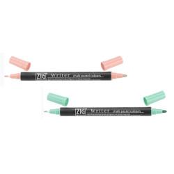 Zig - Zig Writer Chalk Pastel Colours Çift Uçlu Marker Kalem