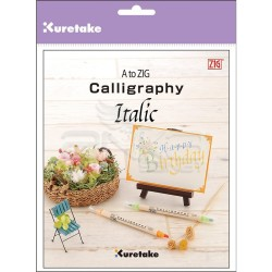 Zig - A to Zig Calligraphy İtalik Yazı Kaligrafi Kitabı