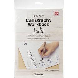 Zig - A to Zig Calligraphy Workbook İtalik Çalışma Kağıdı 201-801