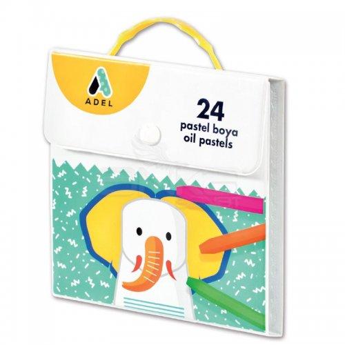 Adel Pastel Boya Seti Çantalı 24 Renk 4281824001