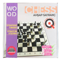 Anka Art - Ahşap Satranç Oyunu