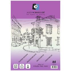 Alex Schoeller - Alex Schoeller Çizim Defteri 180g 25 Yaprak (1)
