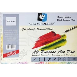Alex Schoeller - Alex Schoeller Çok Amaçlı Sanatsal Blok 200g 15 Yaprak (1)