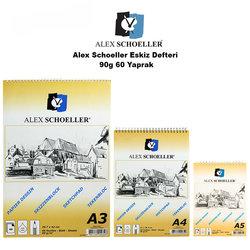 Alex Schoeller - Alex Schoeller Eskiz Defteri 90g 60 Yaprak