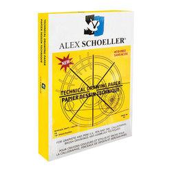 Alex Schoeller Teknik Çizim Kağıdı Damgalı 10lu 200g - Thumbnail