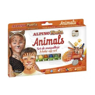 Alpino Fiesta Animals Make up Set Yüz Boyama Seti