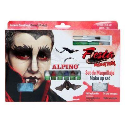Alpino Fiesta Monsters Make Up Set Yüz Boyama Seti 6lı