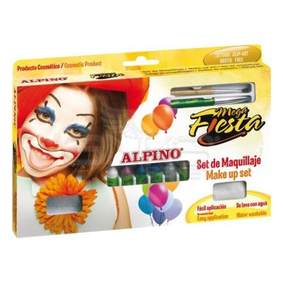 Alpino Mega Fiesta Make Up Set Yüz Boyama Seti