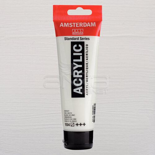 Amsterdam Akrilik Boya 120ml 104 Zinc White