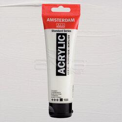 Amsterdam - Amsterdam Akrilik Boya 120ml 105 Titanium White