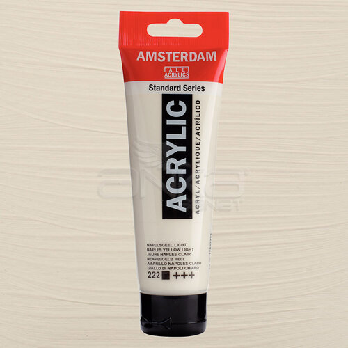 Amsterdam Akrilik Boya 120ml 222 Naples Yellow Light - 222 Naples Yellow Light