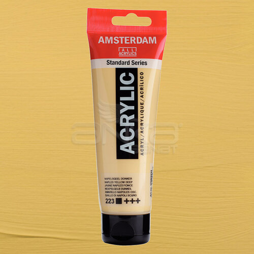 Amsterdam Akrilik Boya 120ml 223 Naples Yellow Deep - 223 Naples Yellow Deep