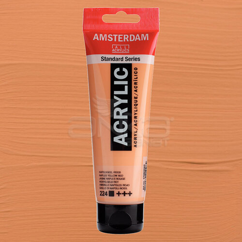 Amsterdam Akrilik Boya 120ml 224 Naples Yellow Red - 224 Naples Yellow Red