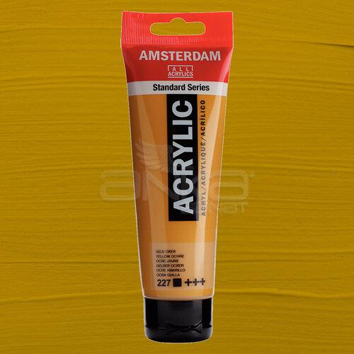 Amsterdam Akrilik Boya 120ml 227 Yellow Ochre - 227 Yellow Ochre