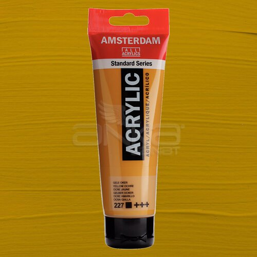 Amsterdam Akrilik Boya 120ml 227 Yellow Ochre - 227 Yellow Ochre