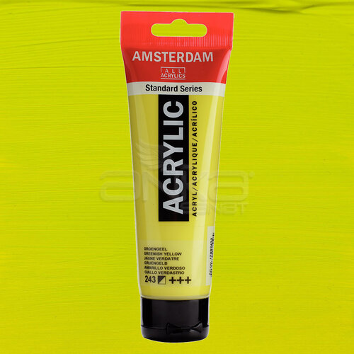 Amsterdam Akrilik Boya 120ml 243 Greenish Yellow - 243 Greenish Yellow