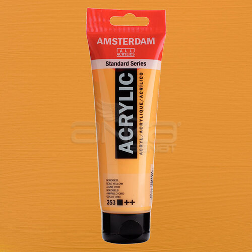 Amsterdam Akrilik Boya 120ml 253 Gold Yellow - 253 Gold Yellow