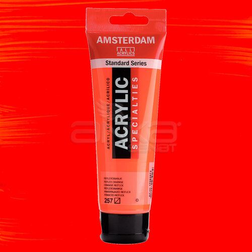 Amsterdam Akrilik Boya 120ml 257 Reflex Orange - 257 Reflex Orange