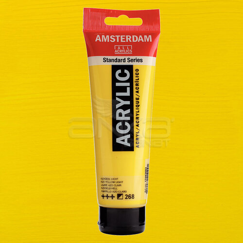 Amsterdam Akrilik Boya 120ml 268 Azo Yellow Light