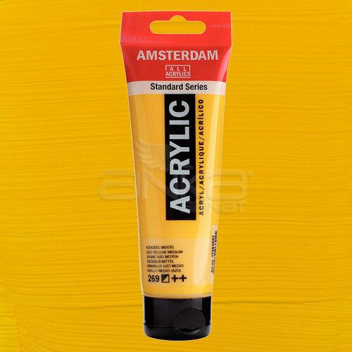 Amsterdam Akrilik Boya 120ml 269 Azo Yellow Medium