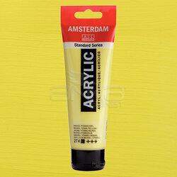 Amsterdam - Amsterdam Akrilik Boya 120ml 274 Nickel Titanium Yellow