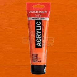 Amsterdam - Amsterdam Akrilik Boya 120ml 276 Orange Azo