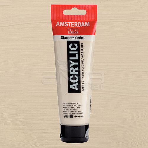 Amsterdam Akrilik Boya 120ml 289 Titanium Buff Light - 289 Titanium Buff Light