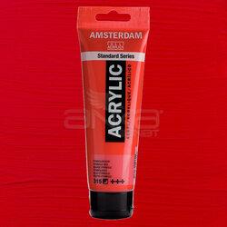 Amsterdam - Amsterdam Akrilik Boya 120ml 315 Pyrrole Red
