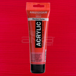 Amsterdam - Amsterdam Akrilik Boya 120ml 317 Transparent Red Medium