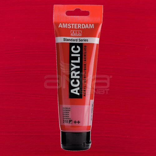 Amsterdam Akrilik Boya 120ml 318 Carmine