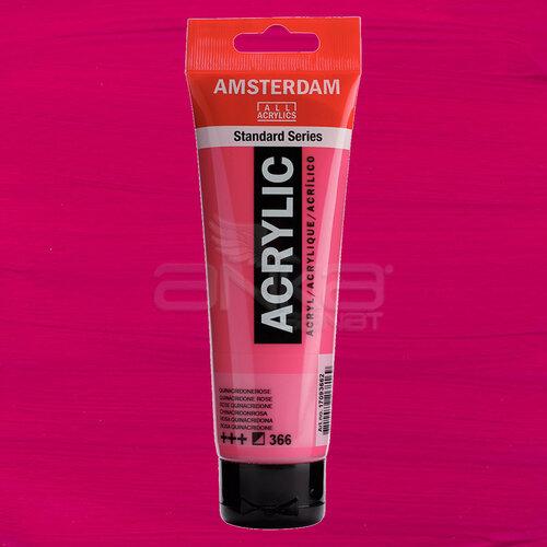 Amsterdam Akrilik Boya 120ml 366 Quinacridone Rose