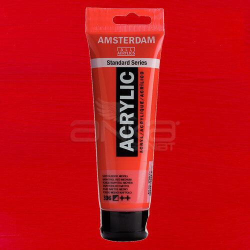 Amsterdam Akrilik Boya 120ml 396 Naphthol Red Medium - 396 Naphthol Red Medium