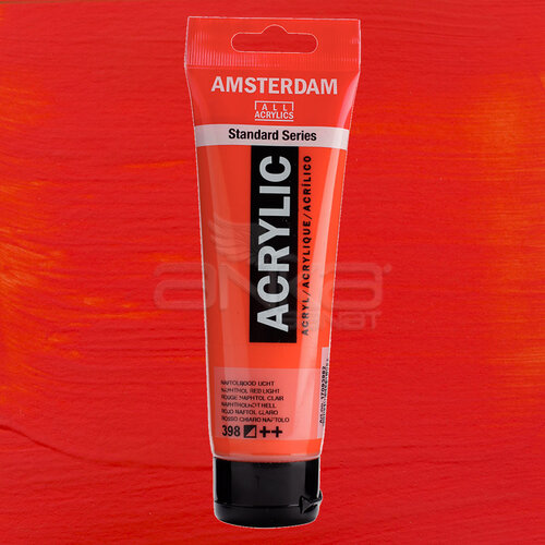 Amsterdam Akrilik Boya 120ml 398 Naphthol Red Light - 398 Naphthol Red Light