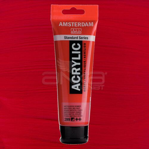 Amsterdam Akrilik Boya 120ml 399 Naphthol Red Deep - 399 Naphthol Red Deep
