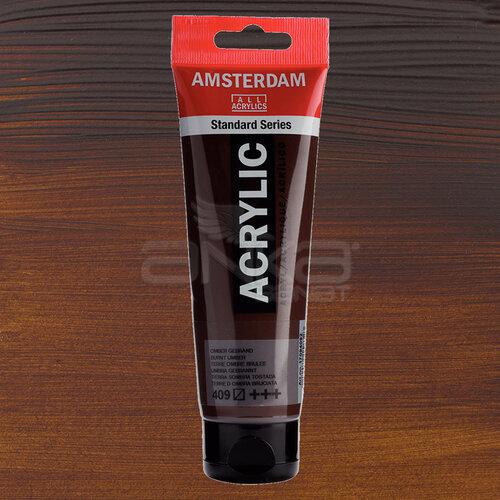 Amsterdam Akrilik Boya 120ml 409 Burnt Umber - 409 Burnt Umber