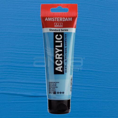Amsterdam Akrilik Boya 120ml 517 Kings Blue
