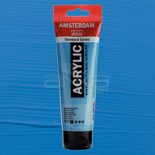 Amsterdam Akrilik Boya 120ml 517 Kings Blue - 517 King's Blue