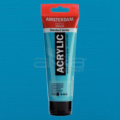 Amsterdam Akrilik Boya 120ml 522 Turquoise Blue