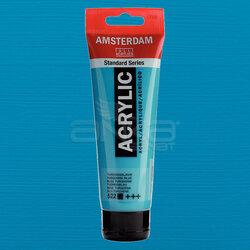 Amsterdam - Amsterdam Akrilik Boya 120ml 522 Turquoise Blue