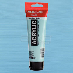 Amsterdam - Amsterdam Akrilik Boya 120ml 551 Sky Blue Light