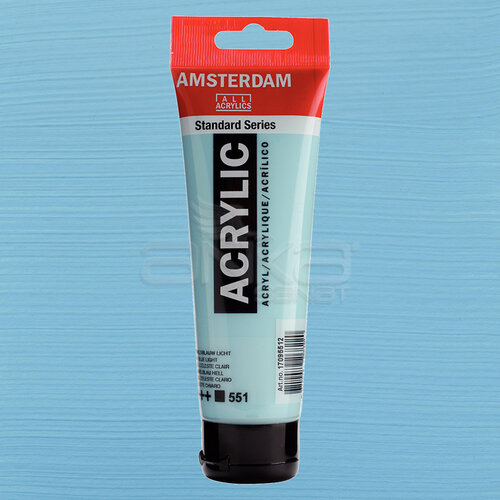 Amsterdam Akrilik Boya 120ml 551 Sky Blue Light - 551 Sky Blue Light