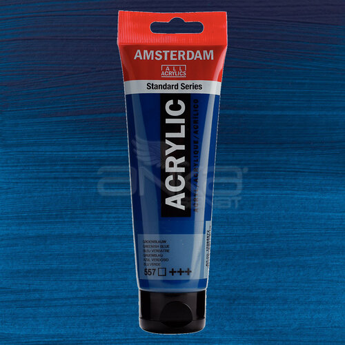 Amsterdam Akrilik Boya 120ml 557 Greenish Blue - 557 Greenish Blue