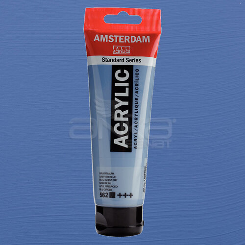 Amsterdam Akrilik Boya 120ml 562 Greyish Blue