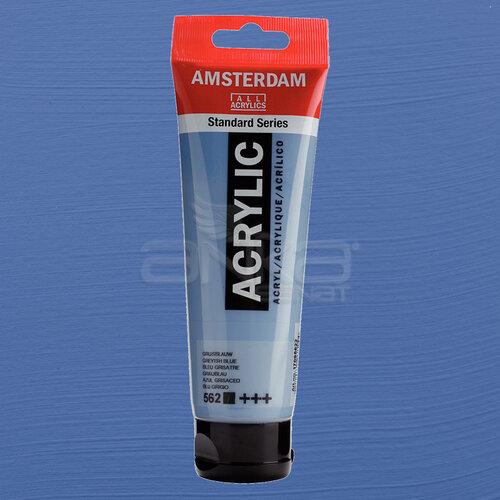 Amsterdam Akrilik Boya 120ml 562 Greyish Blue - 562 Greyish Blue