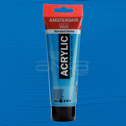 Amsterdam - Amsterdam Akrilik Boya 120ml 564 Brilliant Blue