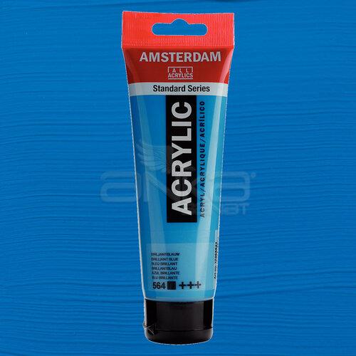 Amsterdam Akrilik Boya 120ml 564 Brilliant Blue - 564 Brilliant Blue